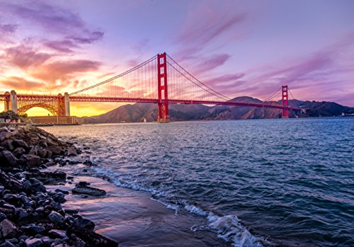 adult puzzle The Golden Gate Bridge San Francisco California 500-Piece Puzzle