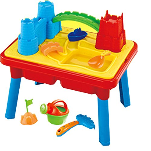 Sand and water play table 2 in 1 with loads of great accesories by Inside Out Toys by Inside Out Toys