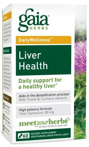 La santé du foie Gaia Herbs, 60-capsule de bouteille