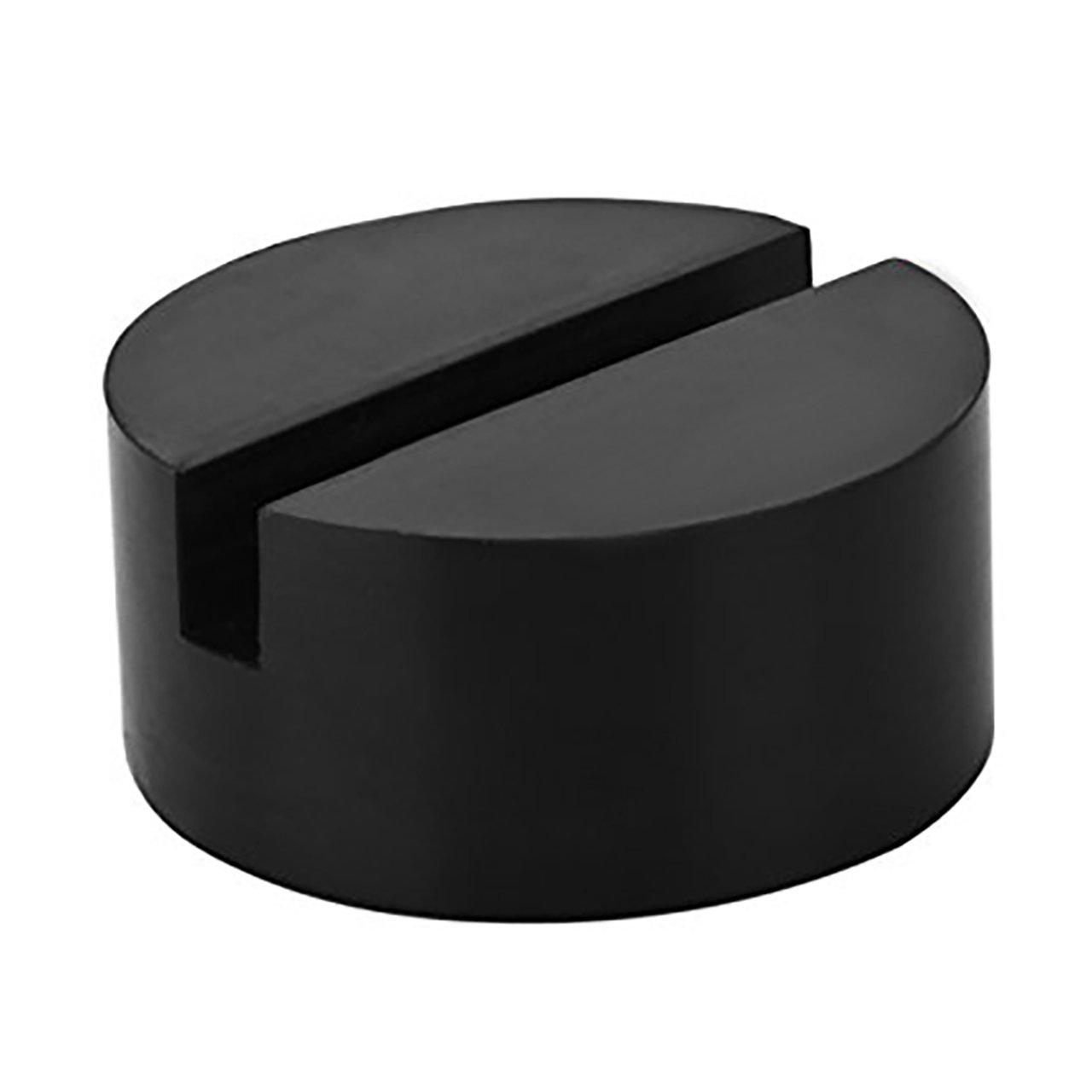 RenXinU Tampon de cric en caoutchouc avec rainure universelle, ré sistant, Jack Pad, Noir résistant