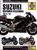 1999-2004 HAYNES SUZUKI GSX1300R HAYABUSA MOTORCYCLE SERVICE MANUAL NEW (4184)