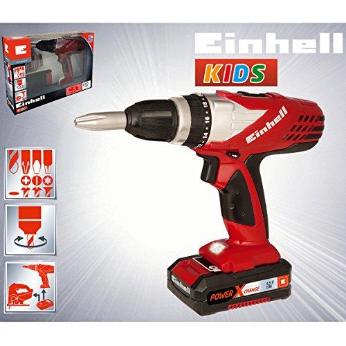 Einhell KIDS Akku Bohrschrauber mit Links-/Rechtslauf, 21x18 cm: Akkuschrauber Spielwerkzeug Kinder Werkzeug Spielzeug