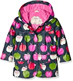 Hatley Girl's Nordic Apples Raincoat