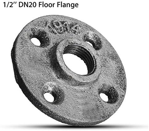 Queenwind 1/2 インチ DN20 鋳鉄鋼チューブパイプ床フランジパイプフィッティング壁マウント