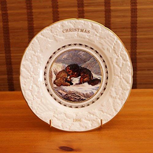 Christmas 1986 by Coalport || vintage fine bone china plate || Eleventh in an annual series reproduced fron the Original Pratt - Coalport Bone Plates China
