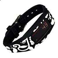 French Bull - Garmin Vivofit 2 Replacement Band Garmin Vivofit 2 Wristband Garmin Vivofit 2 Fitness Band (Vine Black)