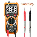 Digital Multimeter Janisa PM18 AC DC Voltage Current Resistance Tester Non-contact Voltage Test Multi Tester Voltmeter Ammeter Ohmmeter with Backlight LCD for DIY