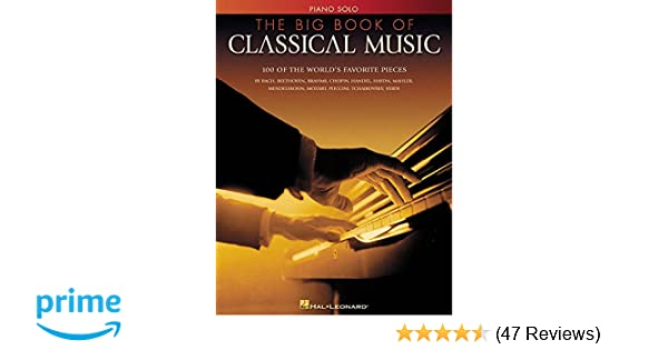 Amazon com: The Big Book of Classical Music (0073999105087