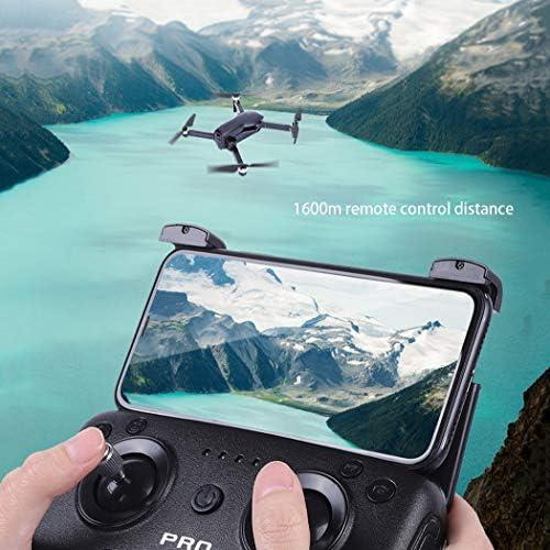 RAPLANC Qualité Professionnelle GPS Drone Puissance sans Balai HD 4K Photographie aérienne 1600 mètres Avions téléguidés, 1200 mètres Transmission d'images + 4K Photographie aérienne