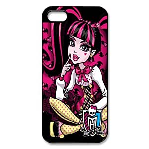 Customize Cartoon Game Monster High Back Cover Case for iphone 5c JN5c25c0