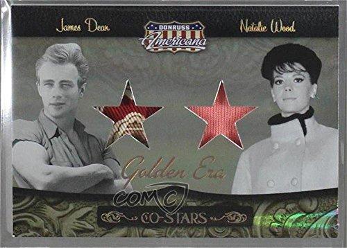 James Dean / Natalie Wood #10/10 (Trading Card) 2007 Donruss Americana - Co-Stars Materials - Golden Era #CSM-3