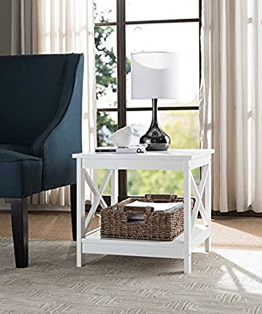 Square Chair Side End Table
