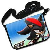 MovieWallscrolls Sonic the Hedgehog Video Game Stylish Laptop Messenger Bag (15 x 11) Inches [MB] Sonic Hedgeghog- 6