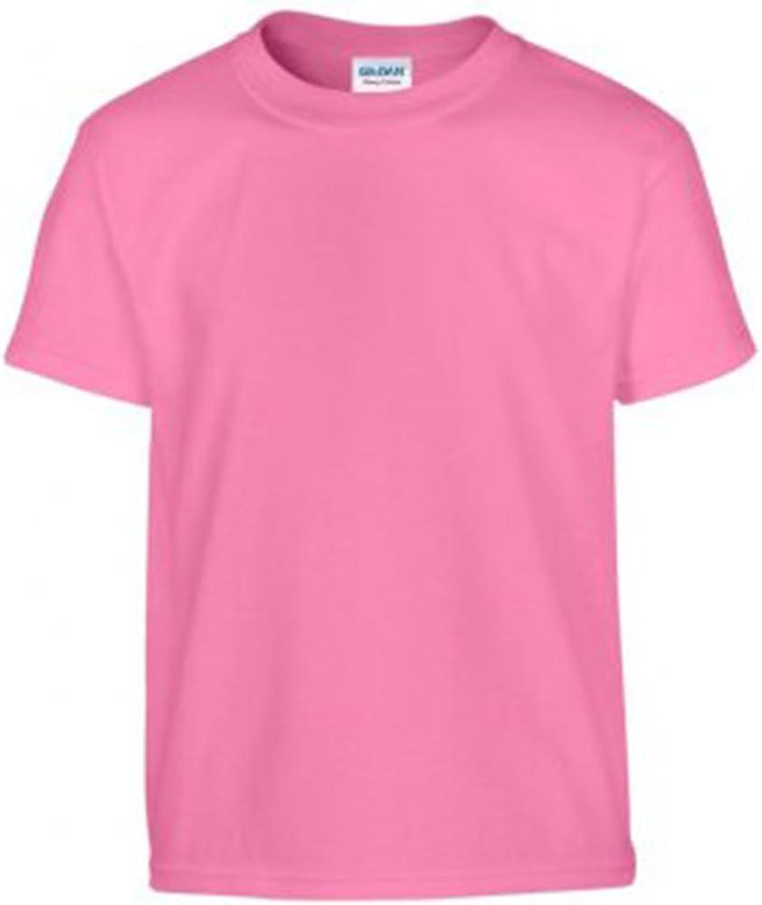 Gildan T-shirt /à manches courtes en coton /épais pour homme