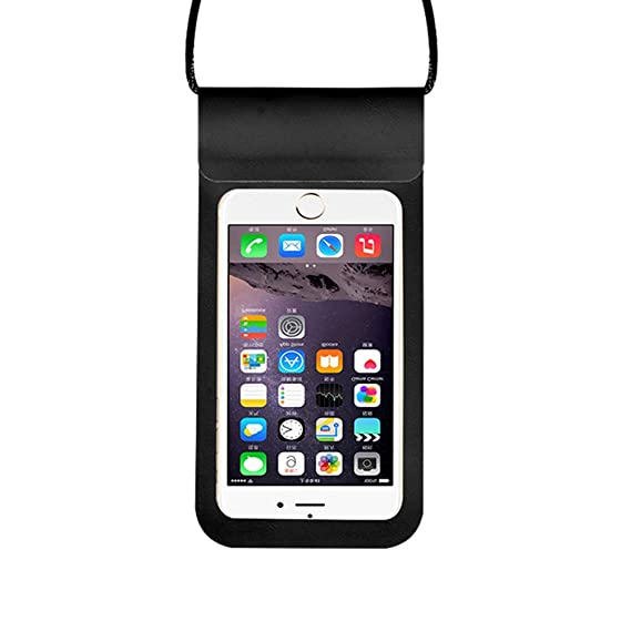 designer fashion 2d730 18f9d Amazon.com: Universal Waterproof Phone Pouch, Underwater Dry Bag ...