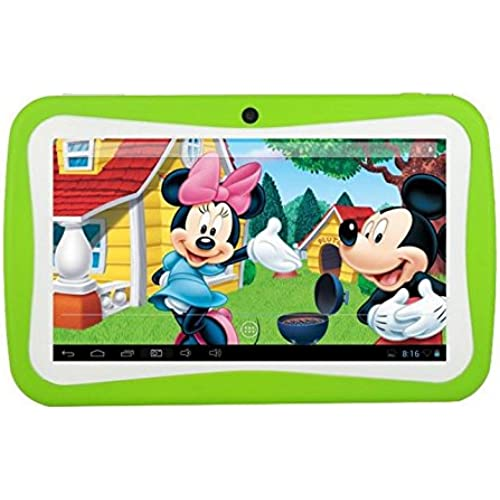 7inch Android 4.0 Children's Kids Game Tablet Pc Birthday Christmas Gift Camera Green Coupons