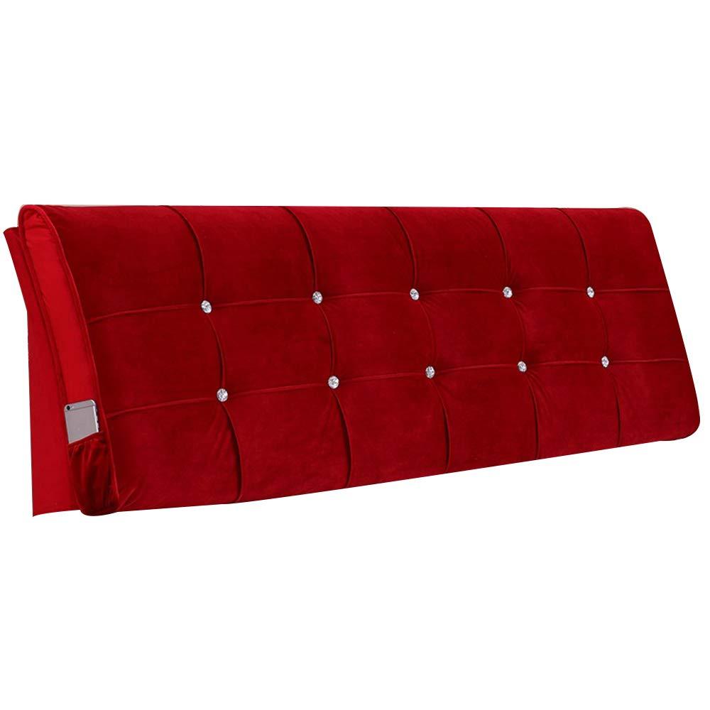 背もたれランバーパッド 大きな柔らかいヘッドボード ソフトバッグ リムーバブルと洗えます 変形していない 3色 Red、 B07PQJKVYM 21サイズ,Brown,190 3色、*58*10cm B07PQJKVYM 90*58*10cm|Red Red 90*58*10cm, 株式会社 ジャパンフーズ:1e1a00cf --- integralved.hu