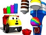 Aprende n/Ameros y los colores con Ethan el Cami/3n Volquete: Las Escaleras / El Lollipop Gigante