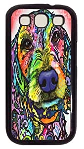 Amour Polycarbonate Hard Case Cover for Samsung Galaxy S3/Samsung Galaxy I9300 Black hjbrhga1544