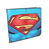 Buckle Down Kids DC Comics Superman Billfold Wallet, Superman