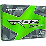 TaylorMade RBZ Soft Golf Balls, White (One Dozen)
