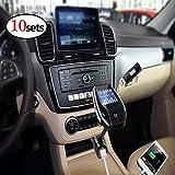 XuBa Bluetooth FM Transmitter 3 USB Ports Car Charger Wireless MP3 Car Player Radio Adapter (10pcs)