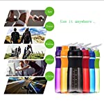 Frabble8 Protein Shaker Blender Bottle for Whey Protein Mix, Cycling Gym Water Bottle with Stainless Steel Spring Mixer…