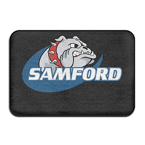 [Samford University Bulldogs Entrance Mat] (Horse Costume Class)