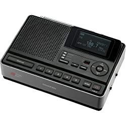 Sangean CL-100 NOAA, S.A.M.E and Public Alert Certified Weather Alert Table-Top Radio with AM/FM-RBDS, and EEPROM Back Up for Preset Stations