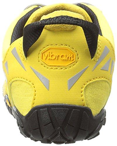 Vibram Women's V Trail Runner, Yellow/Black, 37 EU/6.5 M US by Vibram (Image #2)