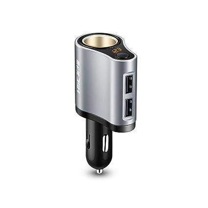 USB Coche Cargador 12V/24V Multi Función Coche Adaptador De ...