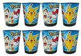 pikachu cup - Pokemon Pikachu & Friends 16oz Plastic Party Favor Cups 8 Pack
