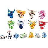 "Super Wings Transform-a-Bots Collectors Pack – 2"" Scale"