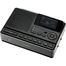 Sangean CL-100 Table-Top Weather Hazard Alert with AM/FM-RBDS Alarm Clock Radio