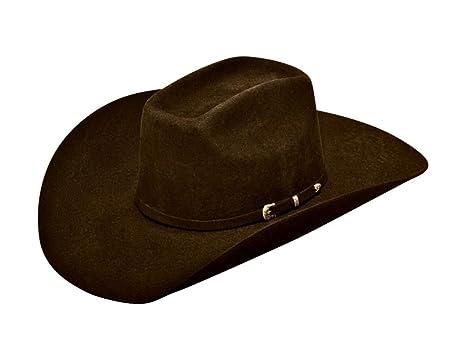 68ee3ea50e238 Ariat Men s Wool 3 Piece Buckle Hat at Amazon Men s Clothing store
