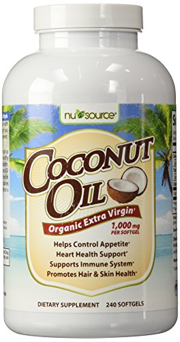 NuSource Coconut Dietary Supplement Count product image