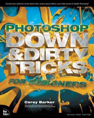 Photoshop Down & Dirty Tricks for Designers Front Cover