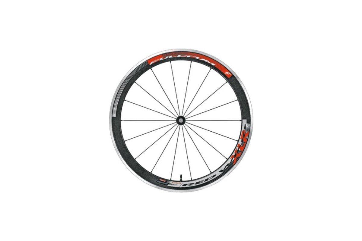 FULCRUM Renn-Laufrad Red Wind H.50 XLR Mod.14 Spezielle Aluminium- / Carbon-Struktur, 50mm Felgenhöhe, kombiniert mit einer Oversize-Nabe und Speichen im ...