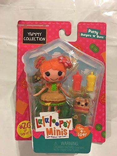 Lalaloopsy Minis Yummy Collection -Patty Burgers 'N' Buns
