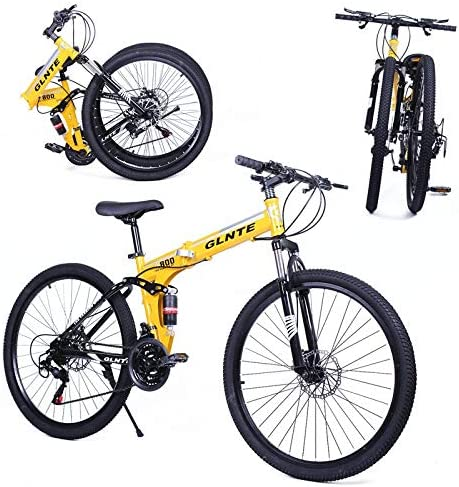Riscko Bicicleta Plegable Mountain Bike MTB 26