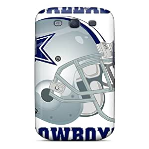 Protective Hard Phone Covers For Samsung Galaxy S3 With Provide Private Custom Beautiful Dallas Cowboys Skin ChristopherWalsh