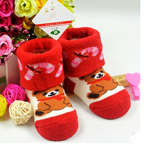 Forufor-Children-Cotton-Terry-Socks-Baby-Socks-2-Pairs