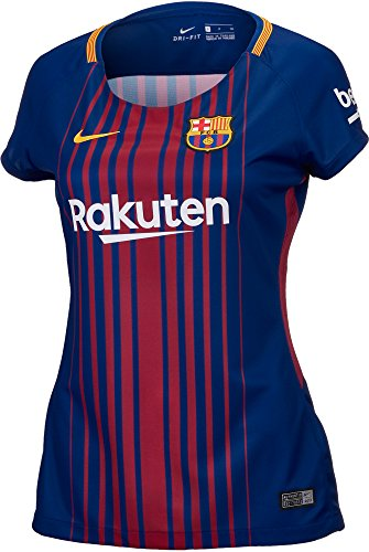 - Women's Nike Breathe FC Barcelona Stadium Jersey, Deep Royal Blue/University Gold, Small