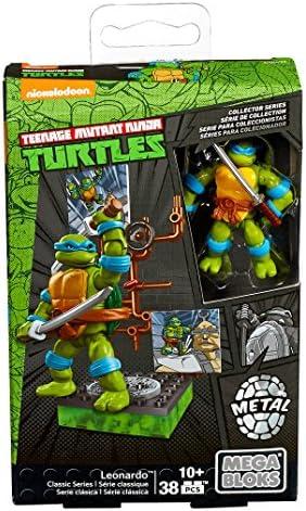 Mega Bloks Teenage Mutant Ninja Turtles Collectors 1987 Classic Leonardo Figure