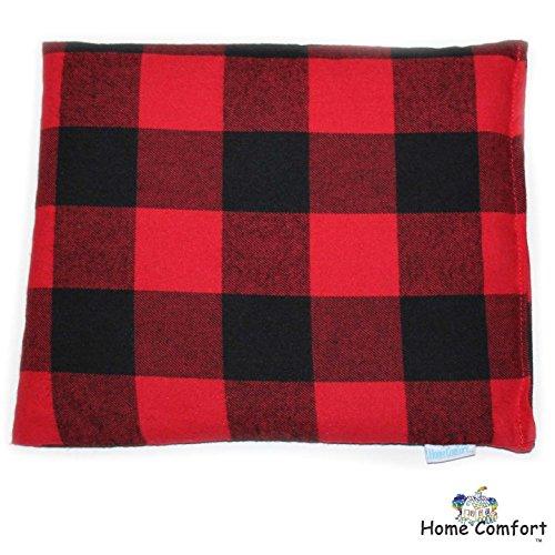 Home Plaid (Microwaveable Heating Pad (Red Plaid))