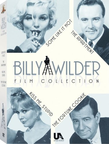 Billy Wilder Gift Set (The Apartment / The Fortune Cookie / Some Like it Hot / Kiss Me - Billy Set Wilder Box