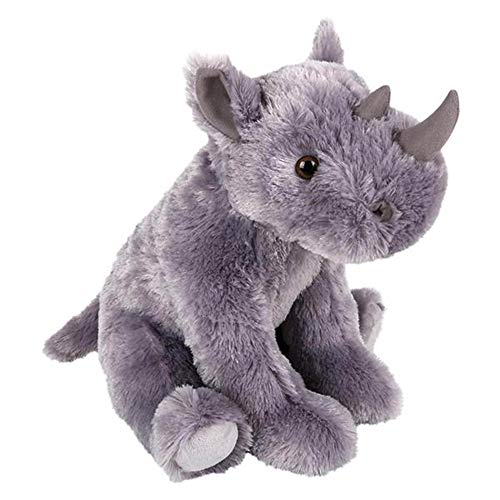 Wildlife Tree Huge 14 Inch Stuffed Rhinoceros Zoo Animal Plush Domain Collection (14 In Plush)