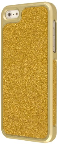 EMPIRE GLITZ Slim-Fit Case Cover Shell Étui Coque for Apple iPhone 5 - Glitter Glam Gold