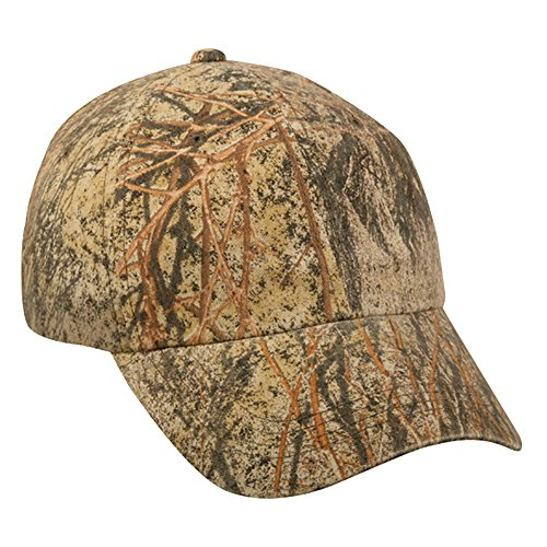 Outdoor cap cgw-115 garment washed camo