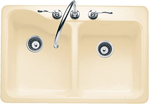 American Standard 7145.805.021 Silhouette 33 by 22 Inch Double